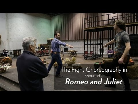 Fight Director, B.H. Barry, talks about the fights in Lyric's ROMEO AND JULIET. Now through March 19