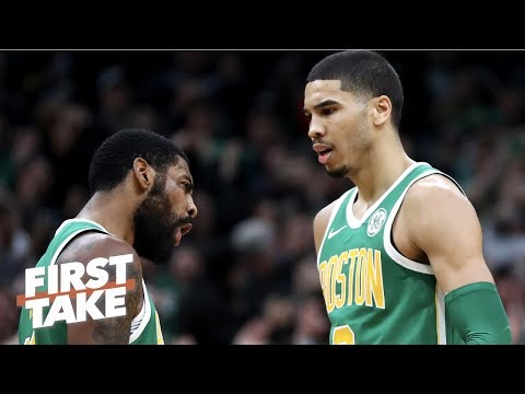 Jayson Tatum not Kyrie Irving will drive the Celtics' NBA playoff run - Stephen A. | First Take