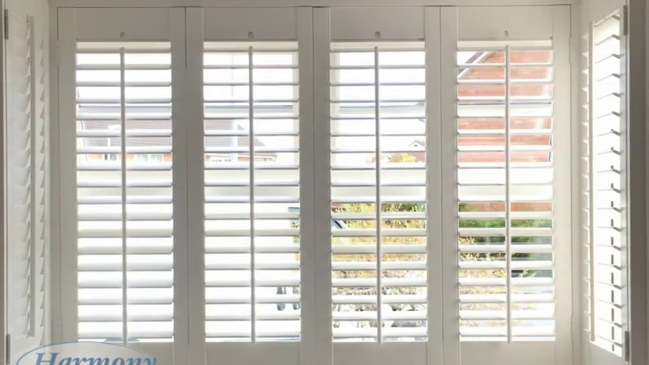 Square Bay Window Vertical Blinds Ideas Youtube
