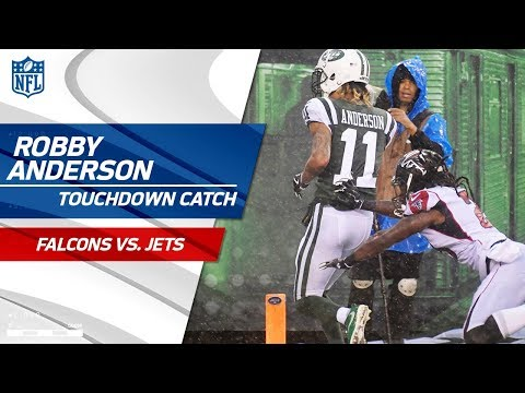 Josh McCown's Perfect TD Strike to Robby Anderson! 🎯 | Falcons vs. Jets | NFL Wk 8 Highlights