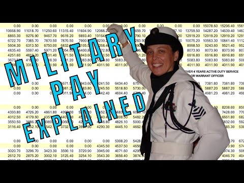 Military Pay - How Basic Navy Pay Works