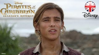 PIRATES OF THE CARIBBEAN | Salazar's Revenge - New Characters | Official Disney UK
