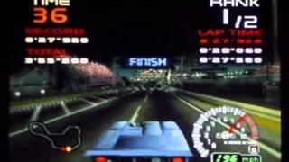 Ridge Racer 64 - Lizard Nightmare Car Attack