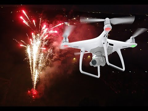 🎆 🚁 AMAZING DRONE FOOTAGE of FIREWORKS  🚁🎆