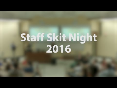 Staff Skit Night | SIL-UND 2016