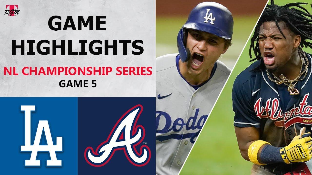 Los Angeles Dodgers vs. Atlanta Braves Game 5 Highlights | NLCS (2020)