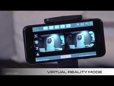 P70-GPS - Video 3: Promark GPS App / VR Mode / Geo-Fence