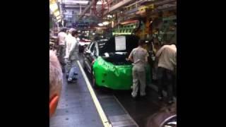 Citroën DS5 en Fábrica