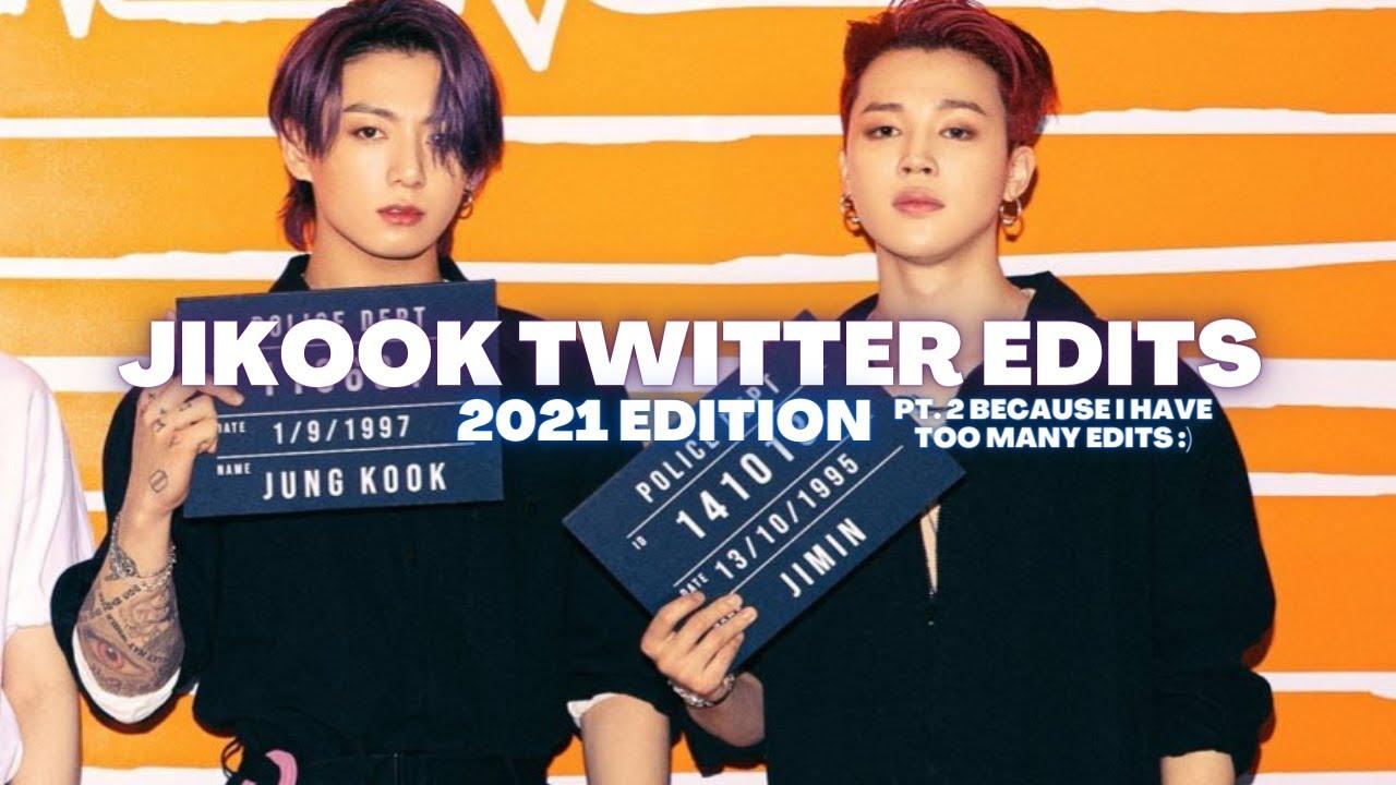 My 2021 Jikook/Kookmin Twitter Edits pt.2