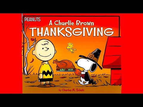 A Charlie Brown THANKSGIVING - BOOK - Read Aloud - Kids and Kindergarten