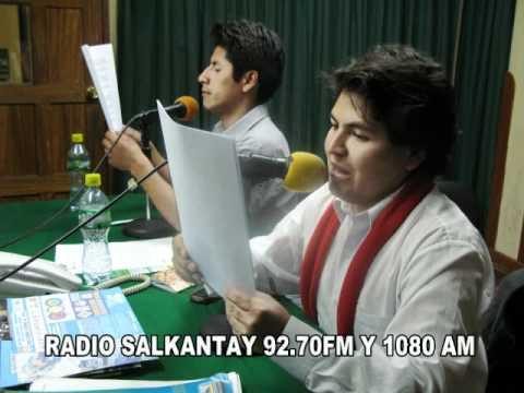 LA HORA DEL TRANSPORTE EN VIVO RADIO SALKANTAY 92.70FM Y 1080 AM