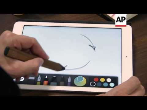 Electronic stylus pen promises the most authentic e-writing experience
