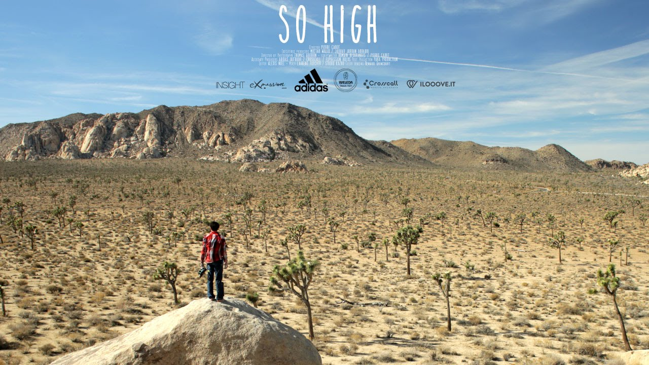 SO HIGH - Official teaser | Romain Desgranges climbing in Joshua Tree |