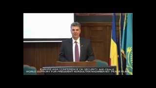 VALERIU ZGONEA-PRESIDENT OF ROMANIAN PARLIAMENT ALLOCUTION AT EURASIA CONFERENCE