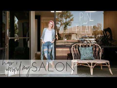 How I opened my Salon (including how much I spent!) | Hairstylist Business Tips
