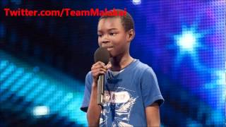 Malakai Paul sings Beyonce Listen - Britain