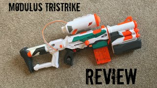 Nerf Modulus Tristrike Unboxing, Review & Range Test