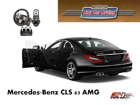 Full download mercedes cls 63 amg city car driving for Mercedes benz car racing games