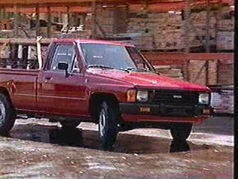 toyota truck commercial 1986 youtube. Black Bedroom Furniture Sets. Home Design Ideas