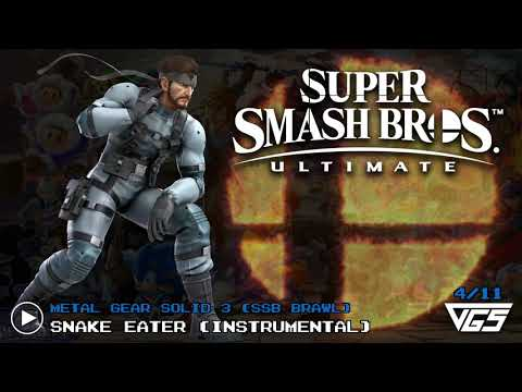 All Metal Gear Solid Songs | Super Smash Bros. Ultimate | OST | 11 tracks