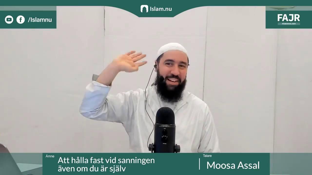 Håll fast vid sanningen även om du är ensam   Fajr påminnelse #2 med Moosa Assal