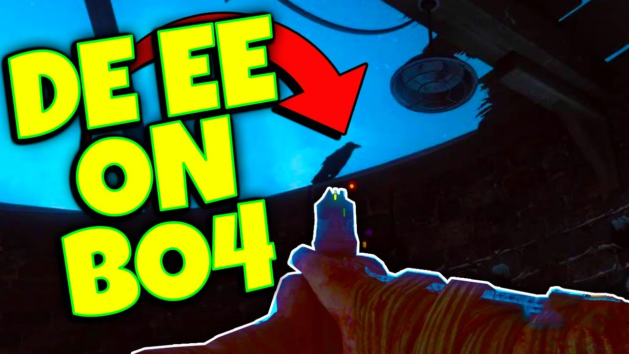 ((SOLVED)) NEW!! Der Eisendrache Raven EASTER EGG on BO4 ZOMBIES