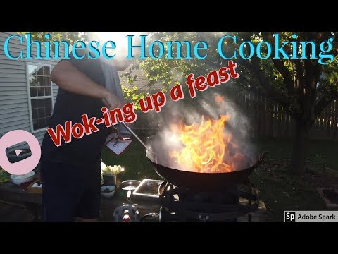 Chinese Home Cooking! Wok-ing up a feast!