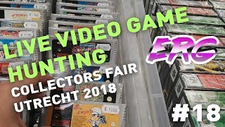 LIve VIDEO GAME and TOY Hunting on The COLLECTORS FAIR 2018 - Flea market/Boot sale hunting  #18