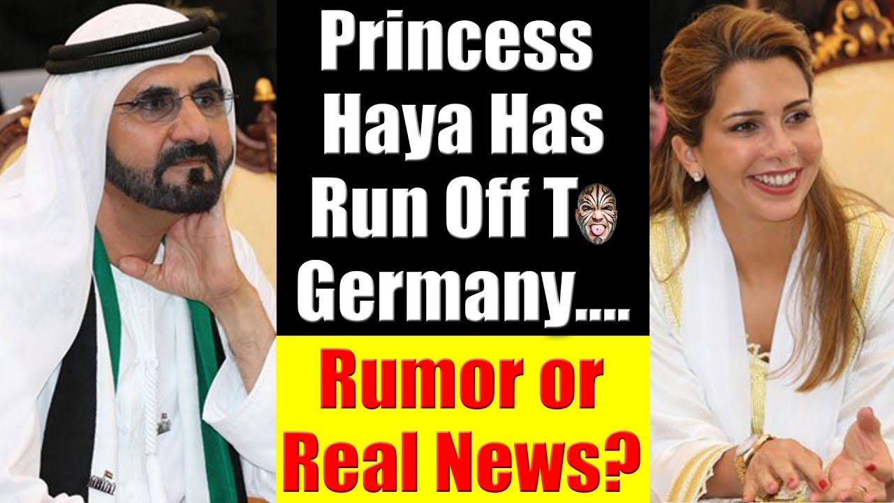 Dubai's Princess Haya Flees UAE & Seeks Asylum In Germany - Rumor Or Real  News?