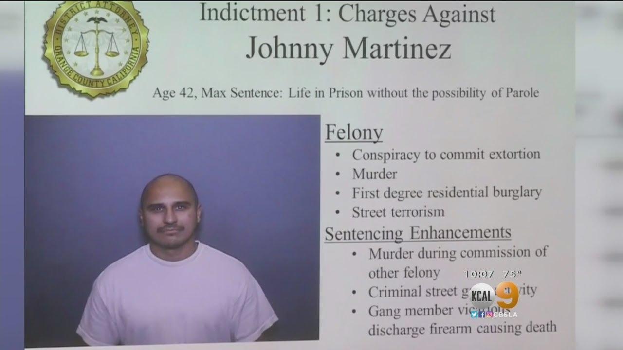 DA: Head Of Mexican Mafia Ordered Murder Of Placentia Man From Inside Prison