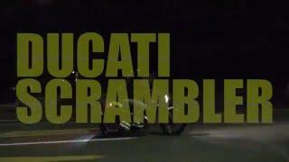 梁井、新しいバイクを買う Ducati Scrambler