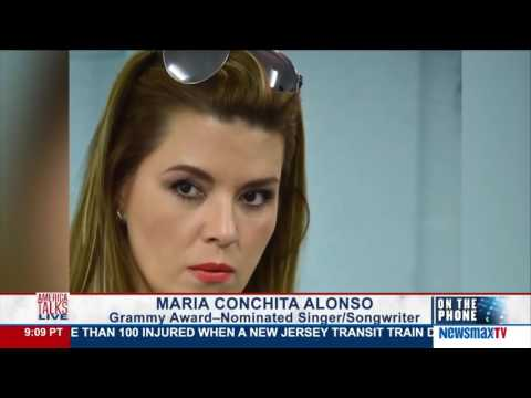 America Talks Live | Maria Conchita Alonso weighs in on Trump and the Fmr. Miss Universe