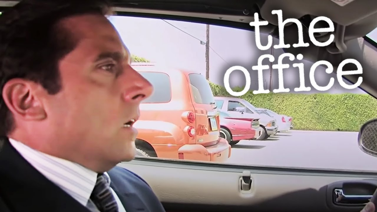 Michael Runs Over Meredith  - The Office US
