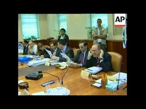 Israeli PM comments on Hamas at weekly cabinet meeting