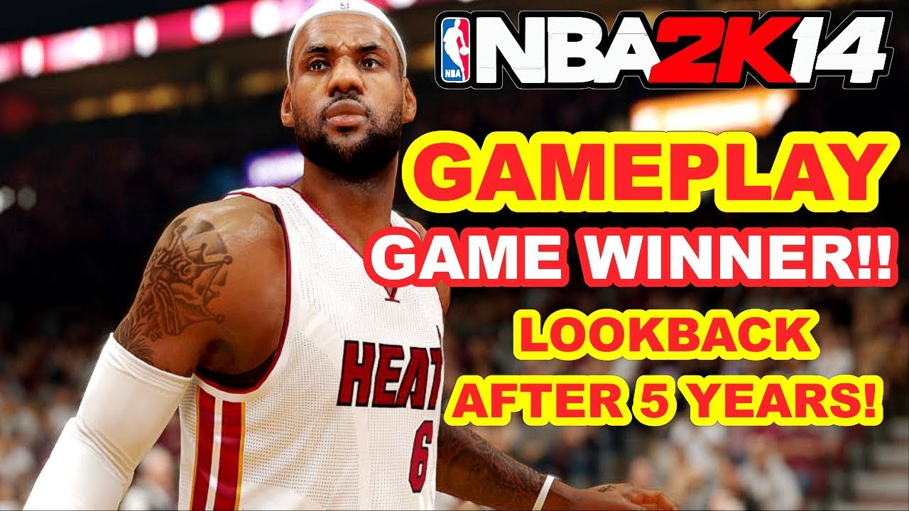NBA 2K14 AFTER 5 YEARS! REVIEW! BEST GRAPHICS - YouTube