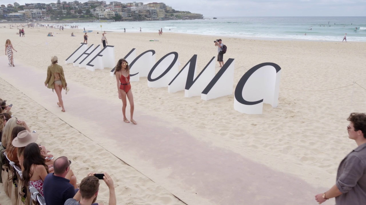 8cc63f3654f THE ICONIC Swimwear 2017 Runway Show at Bondi Beach   Drone Highlights