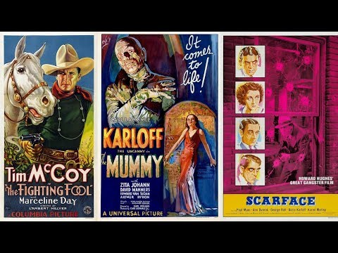 100 Years of Movie Posters - Top Films of 1932