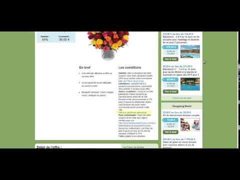 comment profiter de votre bon les fleurs de nicolas ? - youtube
