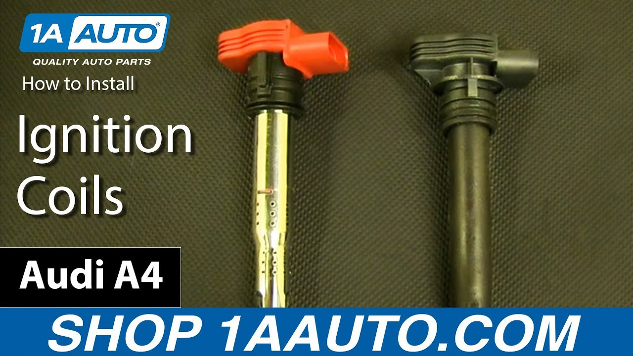 How To Install Replace Ignition Coils Audi A4 And More Youtube 2002 A6 Coil Wiring Diagram