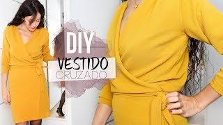 DIY WRAP DRESS    Cómo hacer un vestido cruzado