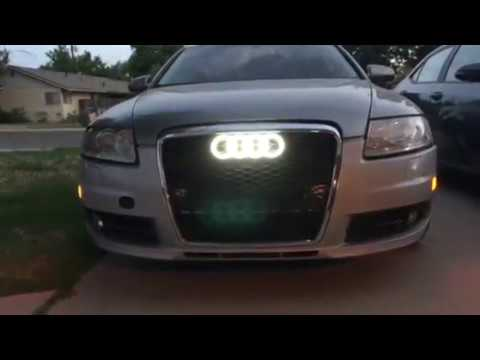 Part3 2006 Audi A6 How To Paint And Replaced Grill And Door Lights