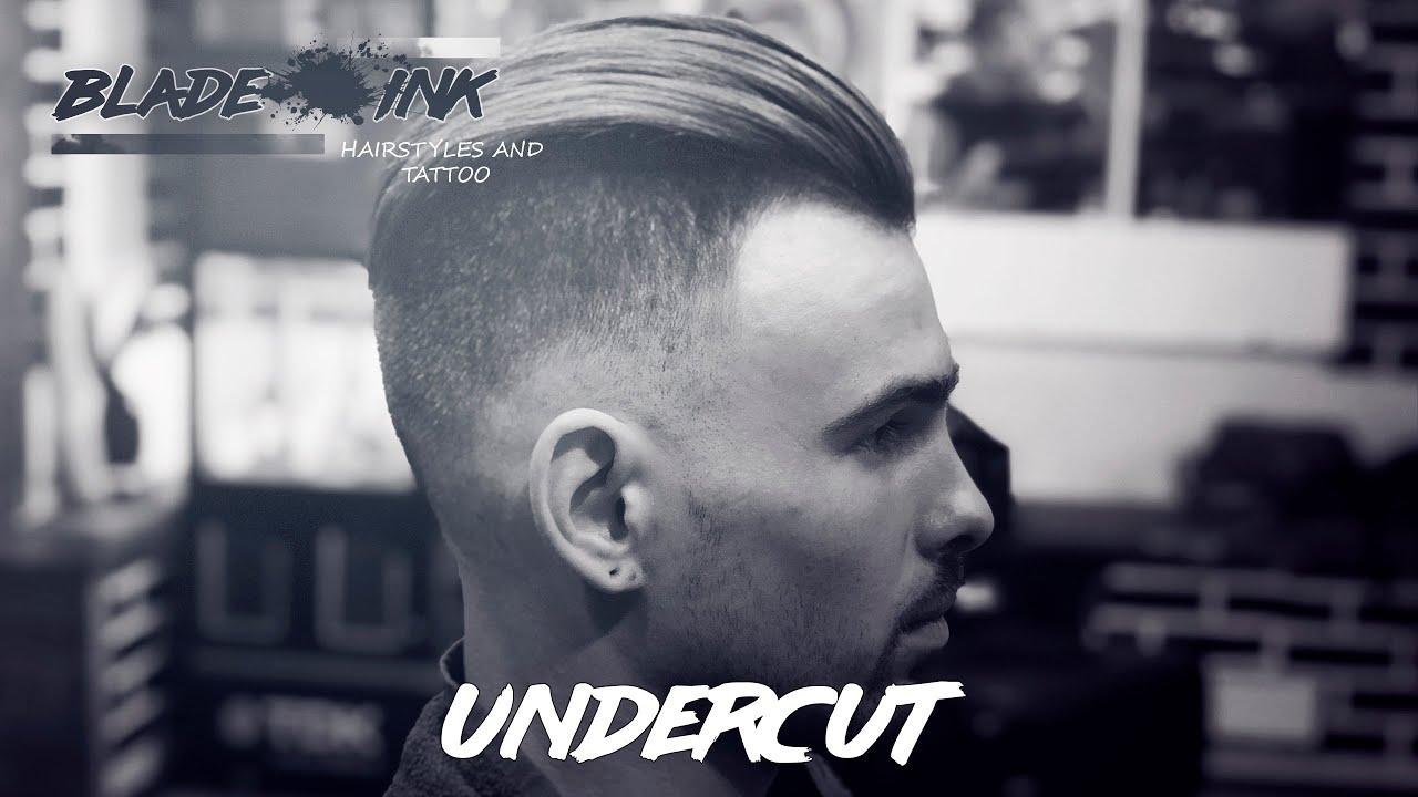 Undercut hairstyle / Like Brad Pitt (Причёска как у Бреда ...