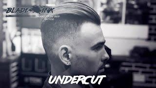 Undercut hairstyle / Like Brad Pitt (Причёска как у Бреда Питта в фильме «Ярость»)
