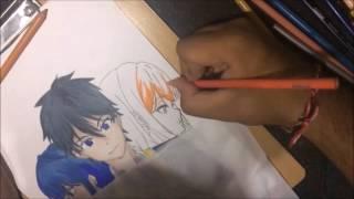 Speed Drawing - Masamune-kun no Revenge #2