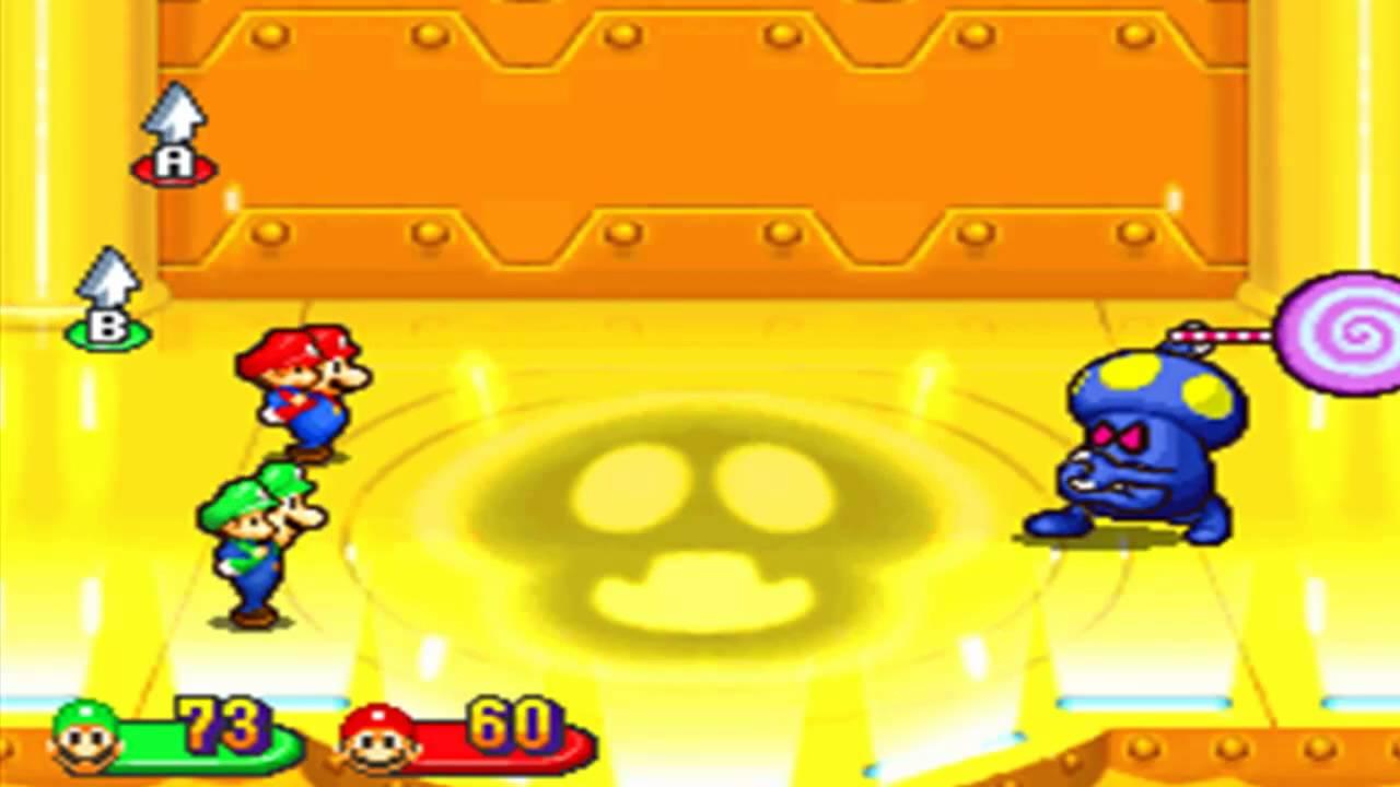 Mario Luigi Partners In Time Boss Fight 7 Shrooboid Brat