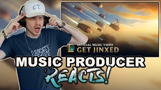 Music Producer Reacts to Get Jinxed - League of Legends