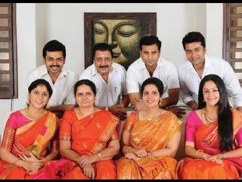 Suriya : Jyothika Family Photos ,Surya and Jyothika Unseen rare private  moments