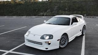 Toyota Supra Turbo 1000 HP Dubai Super Cars best Sound of Car
