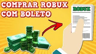 HOW TO BUY ROBUX WITH BOLETO IN ROBLOX