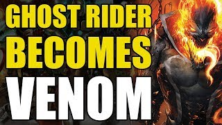 Ghost Rider Becomes Venom! (Edge Of Venomverse #3)